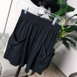 American Apparel Mini Elastic Waist Skirt